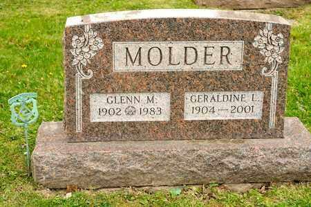 MOLDER, GLENN M - Richland County, Ohio | GLENN M MOLDER - Ohio Gravestone Photos