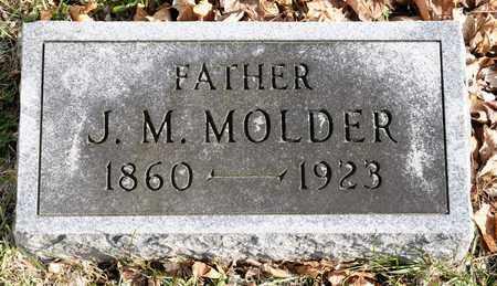 MOLDER, J M - Richland County, Ohio | J M MOLDER - Ohio Gravestone Photos