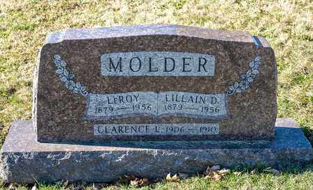 MOLDER, LEROY - Richland County, Ohio | LEROY MOLDER - Ohio Gravestone Photos