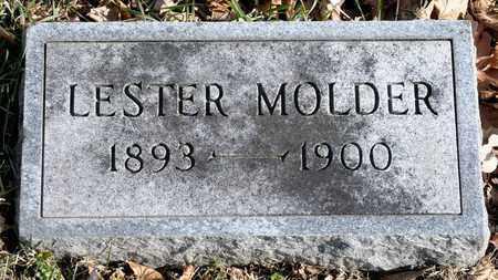 MOLDER, LESTER - Richland County, Ohio | LESTER MOLDER - Ohio Gravestone Photos