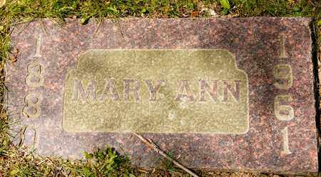 MOLTER, MARY ANN - Richland County, Ohio | MARY ANN MOLTER - Ohio Gravestone Photos