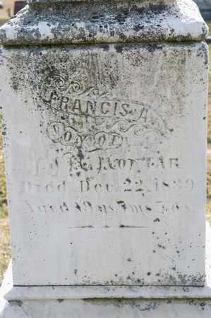 MONJAR, FRANCIS A - Richland County, Ohio | FRANCIS A MONJAR - Ohio Gravestone Photos