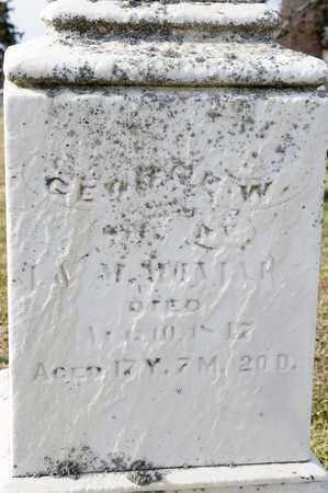 MONJAR, GEORGE W - Richland County, Ohio | GEORGE W MONJAR - Ohio Gravestone Photos