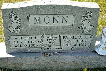 MONN, ALFRED L - Richland County, Ohio | ALFRED L MONN - Ohio Gravestone Photos