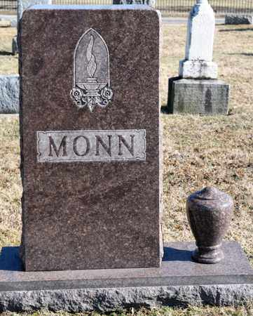 MONN, MILTON B - Richland County, Ohio | MILTON B MONN - Ohio Gravestone Photos