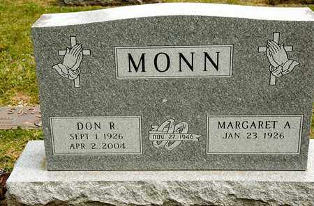 MONN, DON R - Richland County, Ohio | DON R MONN - Ohio Gravestone Photos