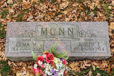MONN, ERMA M - Richland County, Ohio | ERMA M MONN - Ohio Gravestone Photos