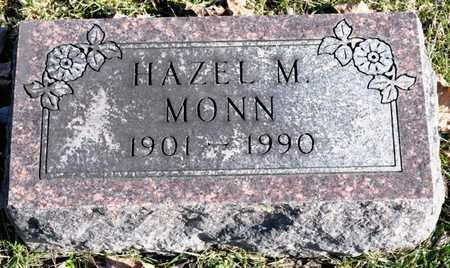 MONN, HAZEL M - Richland County, Ohio | HAZEL M MONN - Ohio Gravestone Photos