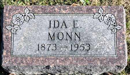 MONN, IDA E - Richland County, Ohio | IDA E MONN - Ohio Gravestone Photos