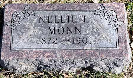 MONN, NELLIE L - Richland County, Ohio | NELLIE L MONN - Ohio Gravestone Photos