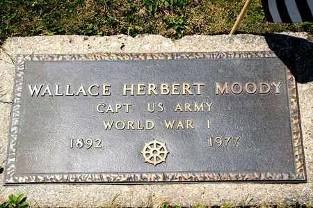 HERBERT MOODY, WALLACE - Richland County, Ohio | WALLACE HERBERT MOODY - Ohio Gravestone Photos