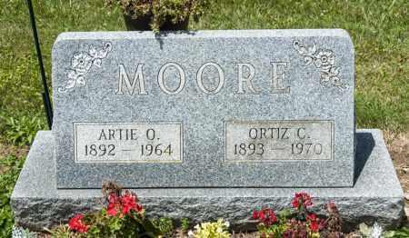 MOORE, ORTIZ C - Richland County, Ohio | ORTIZ C MOORE - Ohio Gravestone Photos