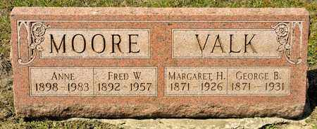 MOORE, ANNE - Richland County, Ohio | ANNE MOORE - Ohio Gravestone Photos