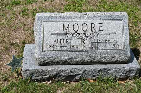 MOORE, ALBERT - Richland County, Ohio | ALBERT MOORE - Ohio Gravestone Photos