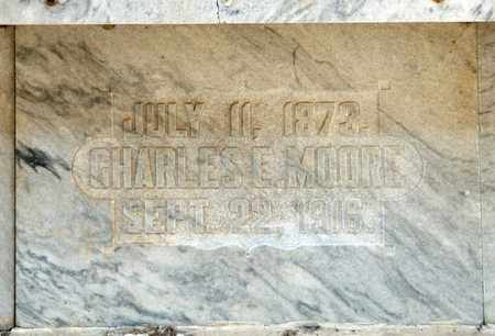 MOORE, CHARLES E - Richland County, Ohio | CHARLES E MOORE - Ohio Gravestone Photos