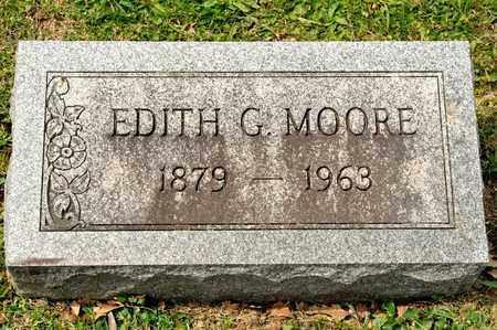 MOORE, EDITH G - Richland County, Ohio | EDITH G MOORE - Ohio Gravestone Photos
