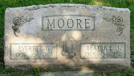 MOORE, EVERETT G - Richland County, Ohio | EVERETT G MOORE - Ohio Gravestone Photos