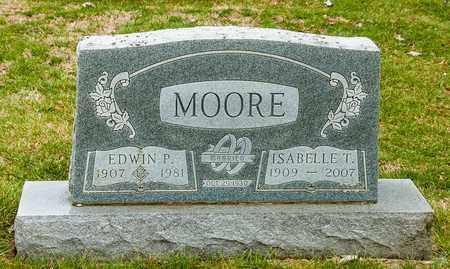 MOORE, EDWIN P - Richland County, Ohio | EDWIN P MOORE - Ohio Gravestone Photos