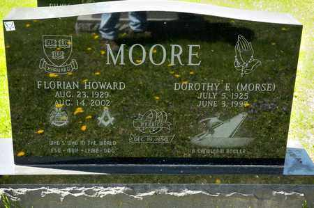 MOORE, FLORIAN HOWARD - Richland County, Ohio | FLORIAN HOWARD MOORE - Ohio Gravestone Photos