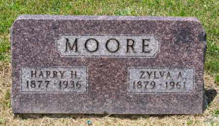 MOORE, HARRY H - Richland County, Ohio | HARRY H MOORE - Ohio Gravestone Photos