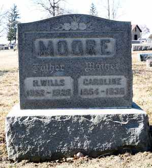MOORE, H WILLIS - Richland County, Ohio | H WILLIS MOORE - Ohio Gravestone Photos