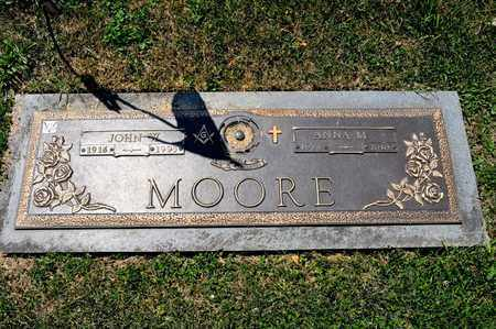 MOORE, ANNA M - Richland County, Ohio | ANNA M MOORE - Ohio Gravestone Photos