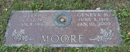 MOORE, JOSEPH A - Richland County, Ohio | JOSEPH A MOORE - Ohio Gravestone Photos