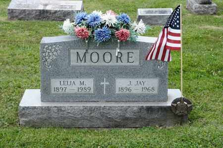 MOORE, J JAY - Richland County, Ohio | J JAY MOORE - Ohio Gravestone Photos
