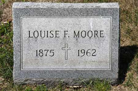 MOORE, LOUISE F - Richland County, Ohio | LOUISE F MOORE - Ohio Gravestone Photos