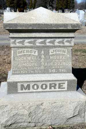 ROCKWELL MOORE, MERCY - Richland County, Ohio | MERCY ROCKWELL MOORE - Ohio Gravestone Photos