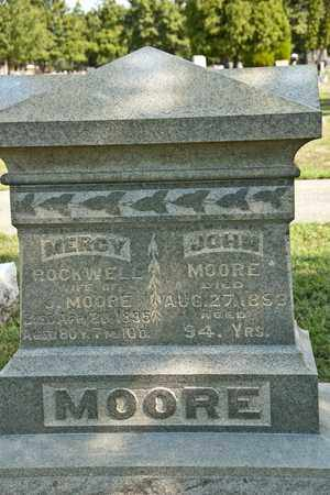 MOORE, MERCY - Richland County, Ohio | MERCY MOORE - Ohio Gravestone Photos