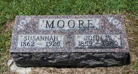 MOORE, SUSANNAH - Richland County, Ohio | SUSANNAH MOORE - Ohio Gravestone Photos