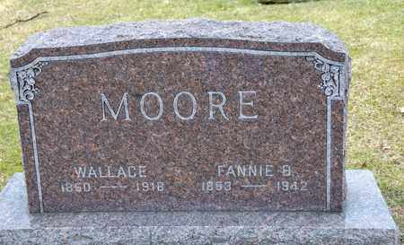 MOORE, FANNIE B - Richland County, Ohio | FANNIE B MOORE - Ohio Gravestone Photos