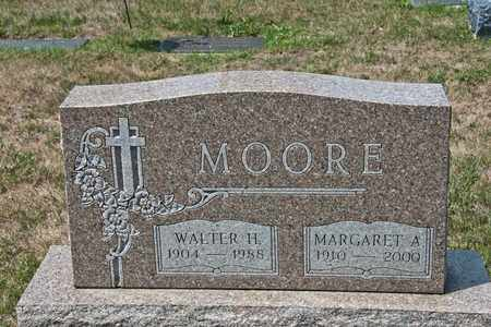 MOORE, WALTER H - Richland County, Ohio | WALTER H MOORE - Ohio Gravestone Photos