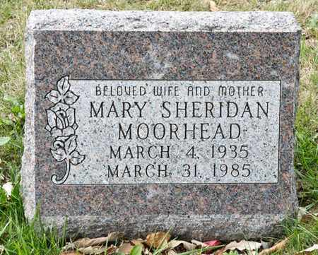 SHERIDAN MOORHEAD, MARY - Richland County, Ohio | MARY SHERIDAN MOORHEAD - Ohio Gravestone Photos