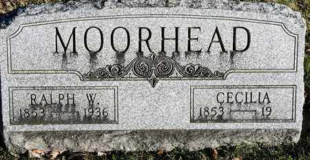 MOORHEAD, RALPH W - Richland County, Ohio | RALPH W MOORHEAD - Ohio Gravestone Photos