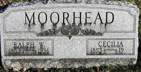 MOORHEAD, CECILIA - Richland County, Ohio | CECILIA MOORHEAD - Ohio Gravestone Photos