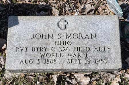 MORAN, JOHN S - Richland County, Ohio | JOHN S MORAN - Ohio Gravestone Photos