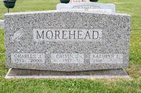 MOREHEAD, CALVIN J - Richland County, Ohio | CALVIN J MOREHEAD - Ohio Gravestone Photos
