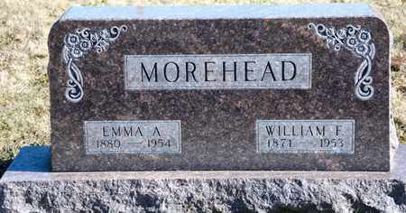 MOREHEAD, WILLIAM F - Richland County, Ohio | WILLIAM F MOREHEAD - Ohio Gravestone Photos