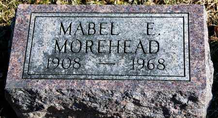 MOREHEAD, MABEL E - Richland County, Ohio | MABEL E MOREHEAD - Ohio Gravestone Photos