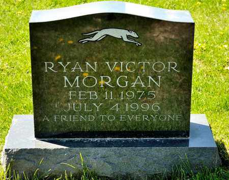 MORGAN, RYAN VICTOR - Richland County, Ohio | RYAN VICTOR MORGAN - Ohio Gravestone Photos