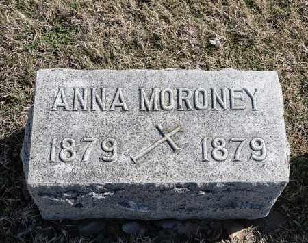 MORONEY, ANNA - Richland County, Ohio   ANNA MORONEY - Ohio Gravestone Photos