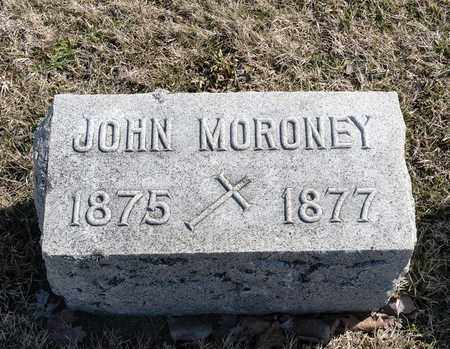 MORONEY, JOHN - Richland County, Ohio | JOHN MORONEY - Ohio Gravestone Photos
