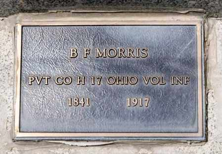 MORRIS, B F - Richland County, Ohio | B F MORRIS - Ohio Gravestone Photos