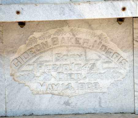 MORRIS, GIDEON BAKER - Richland County, Ohio | GIDEON BAKER MORRIS - Ohio Gravestone Photos