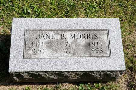 MORRIS, JANE B - Richland County, Ohio | JANE B MORRIS - Ohio Gravestone Photos