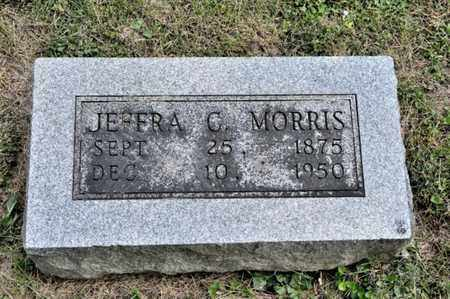 MORRIS, JEFFRA C - Richland County, Ohio | JEFFRA C MORRIS - Ohio Gravestone Photos