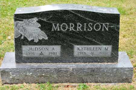 MORRISON, JUDSON A - Richland County, Ohio | JUDSON A MORRISON - Ohio Gravestone Photos
