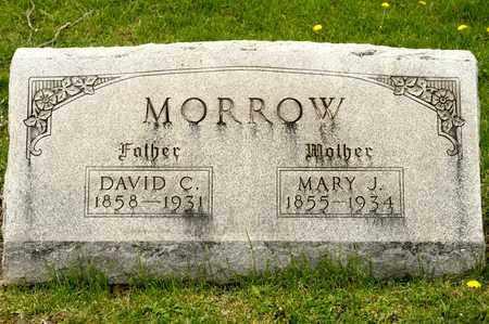MORROW, DAVID C - Richland County, Ohio | DAVID C MORROW - Ohio Gravestone Photos